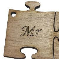 Wooden Mr Puzzle [+£0.86]