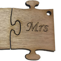 Wooden Ms Puzzle [+£0.85]