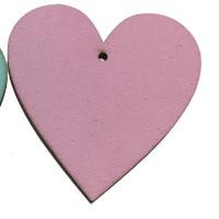 Pink Wooden Heart [+£1.70]